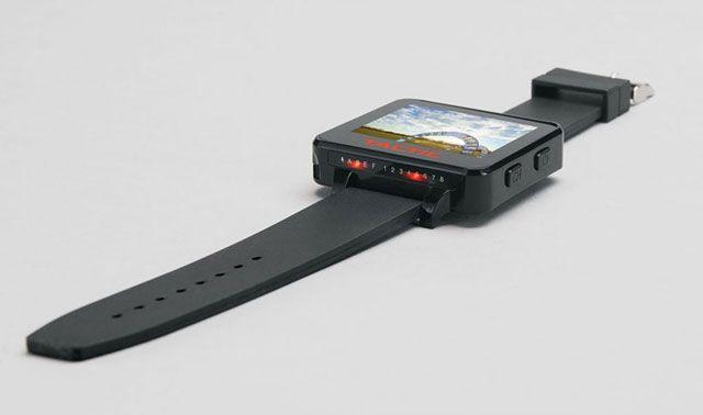 taktyczny zegarek fpv-Tactic FPV Wrist Watch Side View