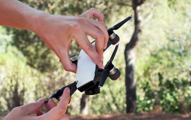 dji mavic czy spark: który dron lepszy w podróż?-dji spark podroz