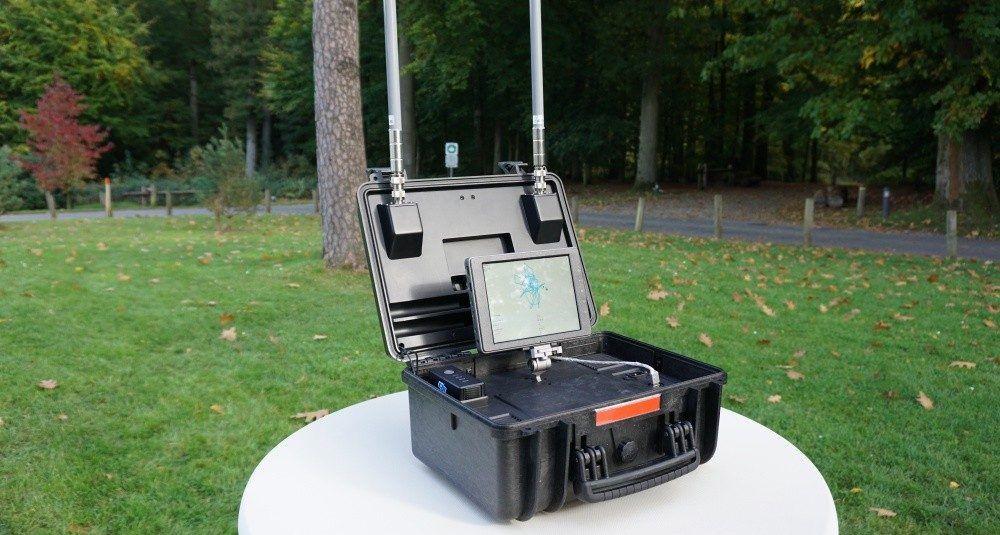 dji wprowadziło własne id dla systemu aeroscope-dji aeroscope