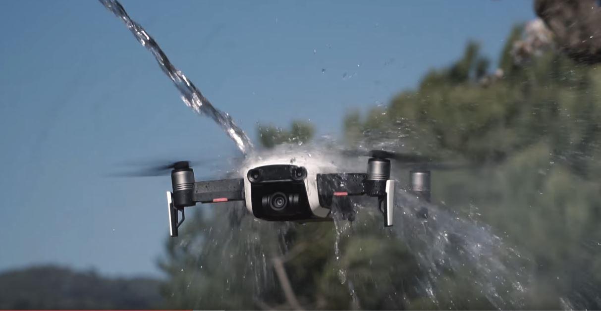dron-crash test mavic air 1