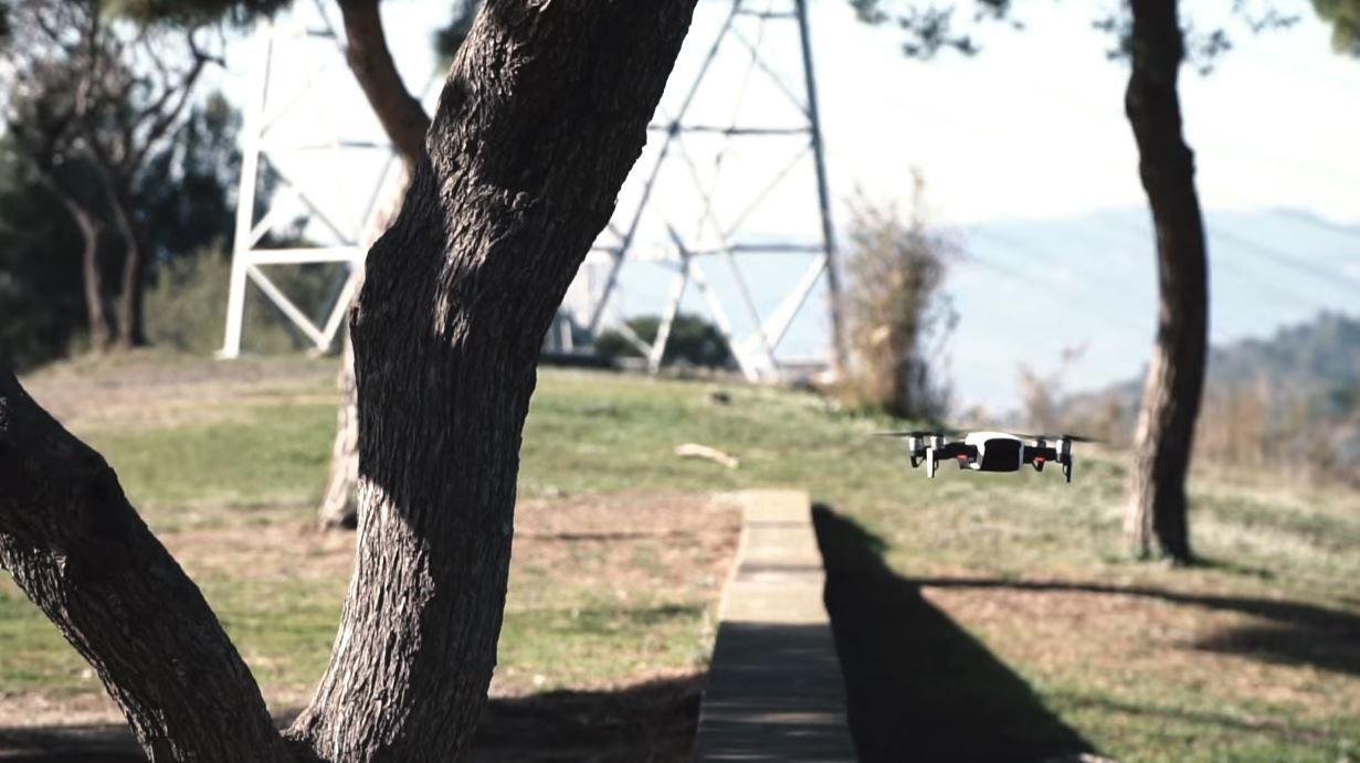 dron-tast apas mavic air